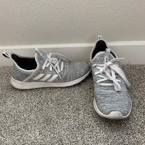 White/Gray Women's Adidas
